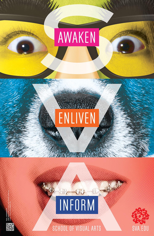 SVA: Change Poster Series - Anderson Newton Design